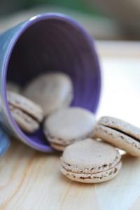 Macarons (sans gluten, ni caséine de lait) - Macaroons (gluten free, dairy free) - Vanessa Romano - photographe et styliste culinaire