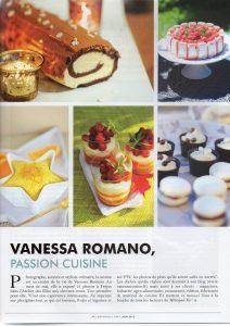 Article sur le travail de Vanessa Romano photographe culinaire à Fréjus Var