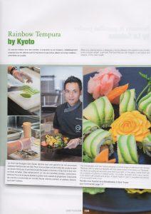 photos culinaires de Vanessa Romano sur le Kyoto