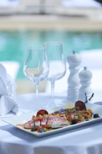 Rougets farcis de tapenade, risotto au chorizo - Hôtel Muse - Saint Tropez - Vanessa Romano photographe et styliste culinaire (1)
