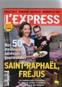 Article l'Express novembre 2015 - Vanessa Romano photographe et styliste culinaire 2