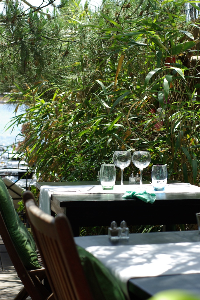 Restaurant Côté Jardin à Gigaro