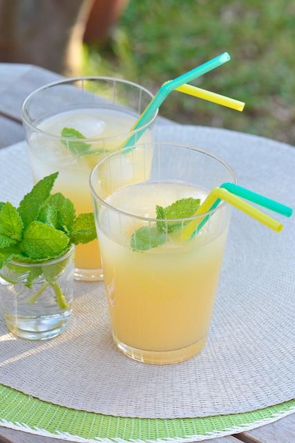 photographie culinaire d'un cocktail la Périne Poire