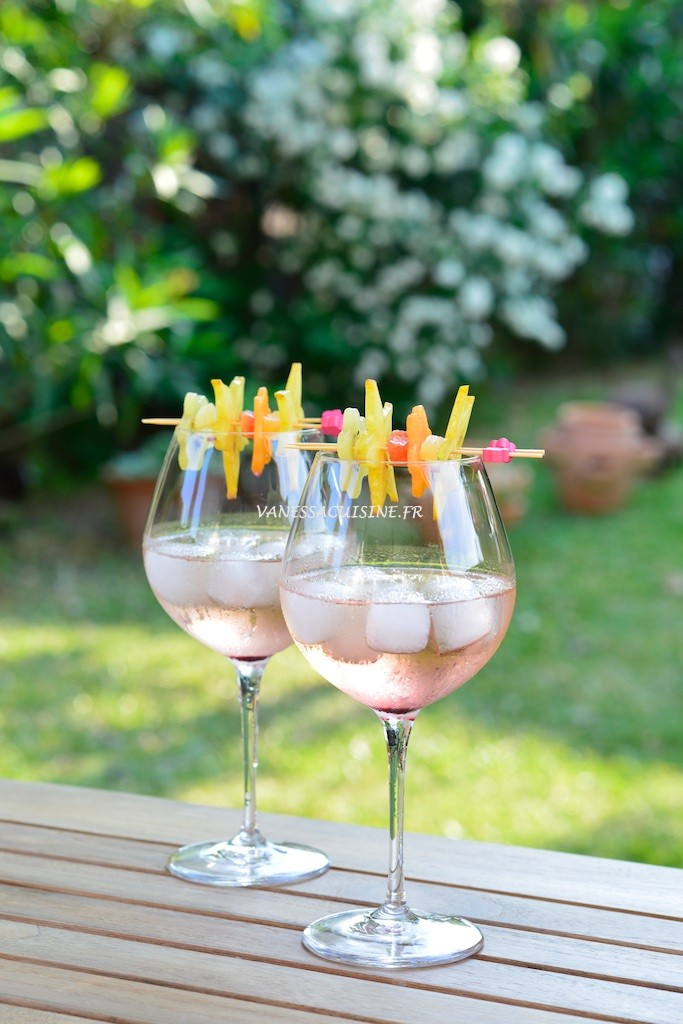photographie culinaire de cocktail la Piscine Manguin