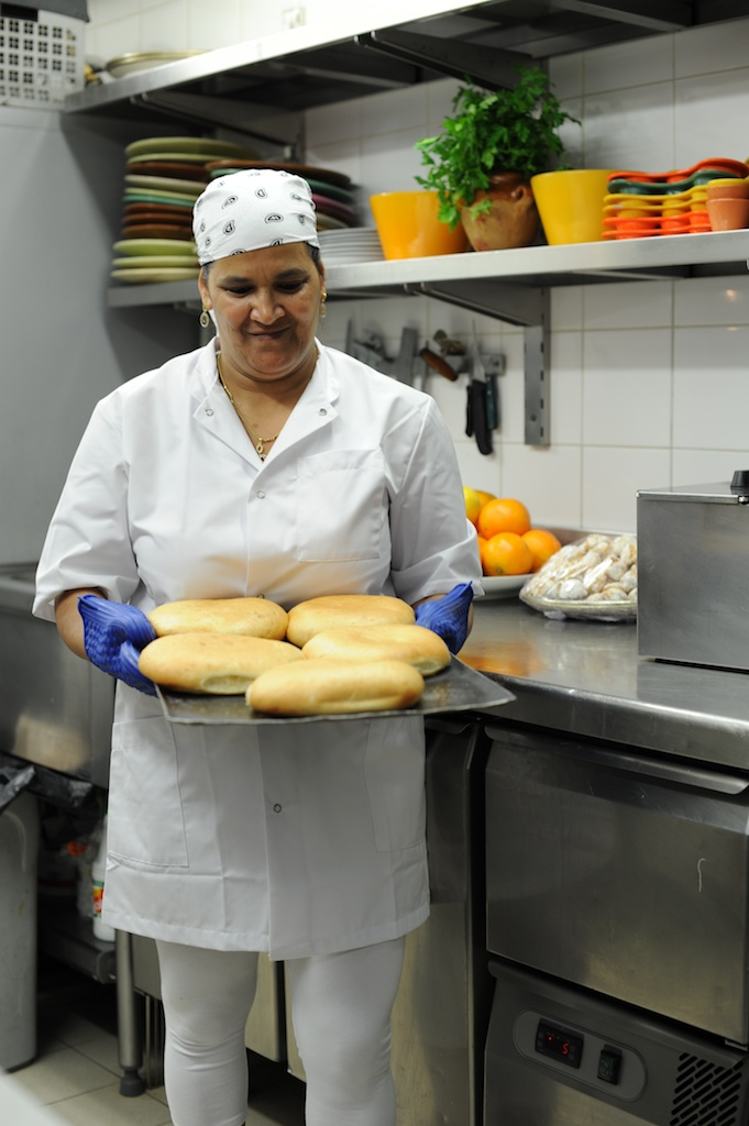 photos de la chef du Salama Saint Tropez