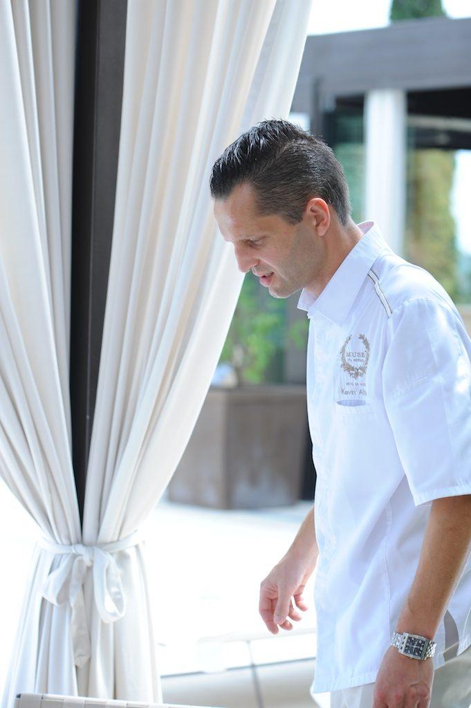 photo du chef de l'hôtel Muse à Saint Tropez