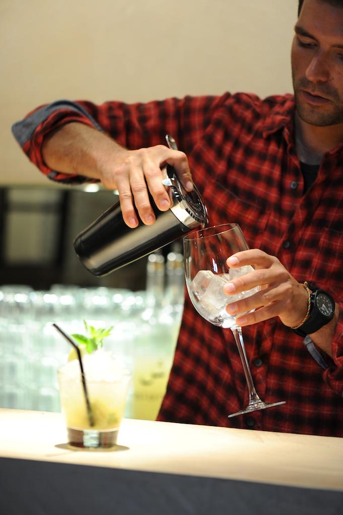 photo du barman du Salama