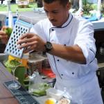 Le sous chef du Benkiraï à Saint Tropez (Var) - Vanessa Romano photographe et styliste culinaire