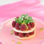 photo deMillefeuille de melon et framboise Vanessa Romano photographe et styliste culinaire