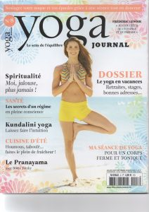 magazine yoga juillet 2016