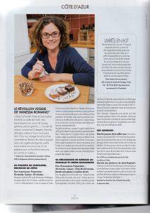 Article affichant plusieurs recettes de Vanessa Romano création de recettes