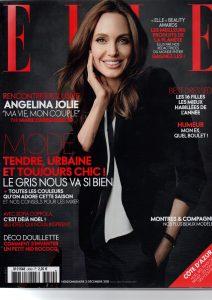 Magazine Elle décembre 2015