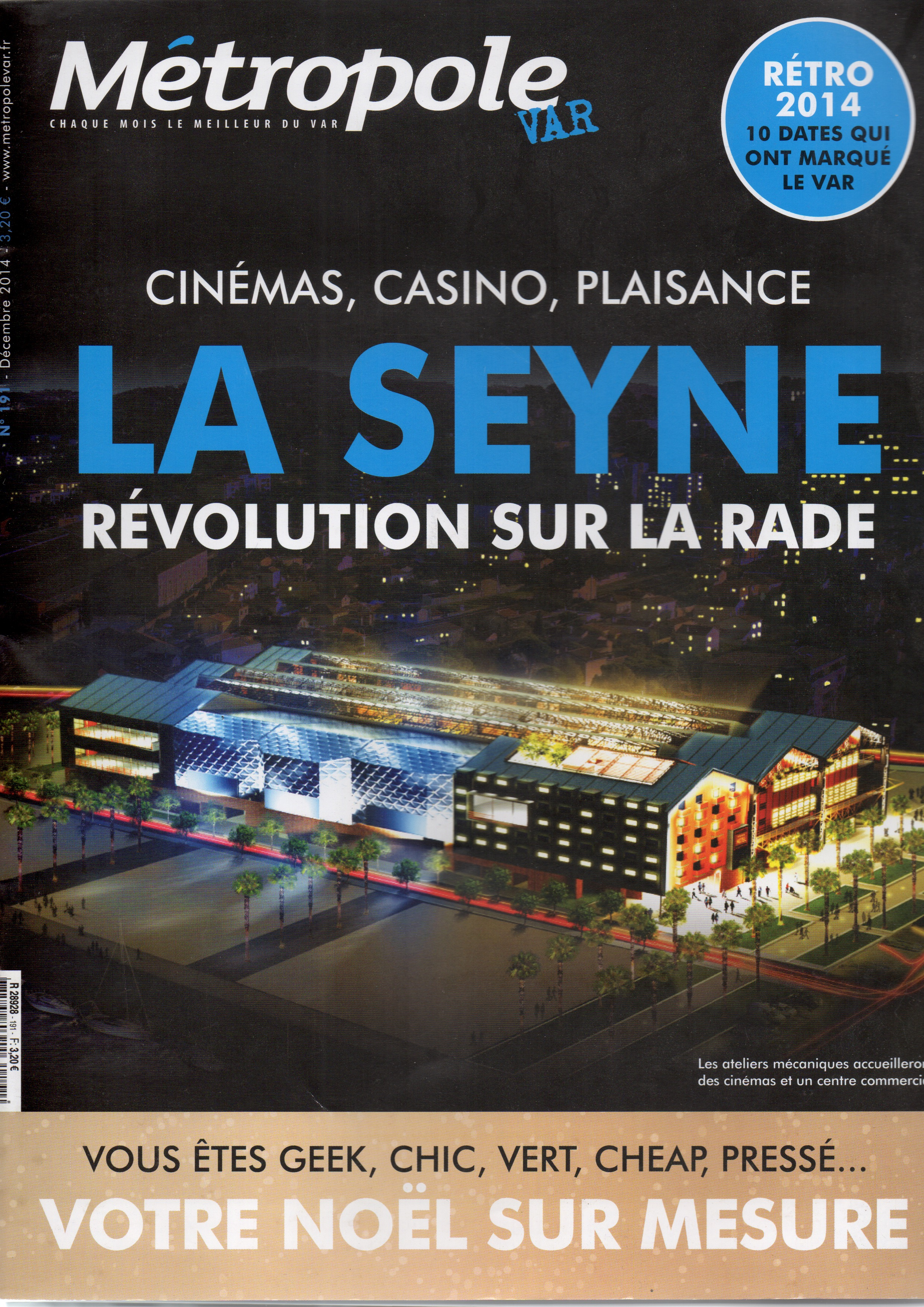Magazine Métropole Var décembre 2014