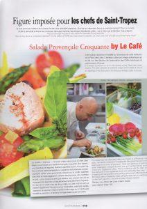 photos faites au Café place des Lices Saint Tropez Vanessa Romano
