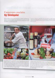 photos culinaires faites au Sénéquier par Vanessa Romano