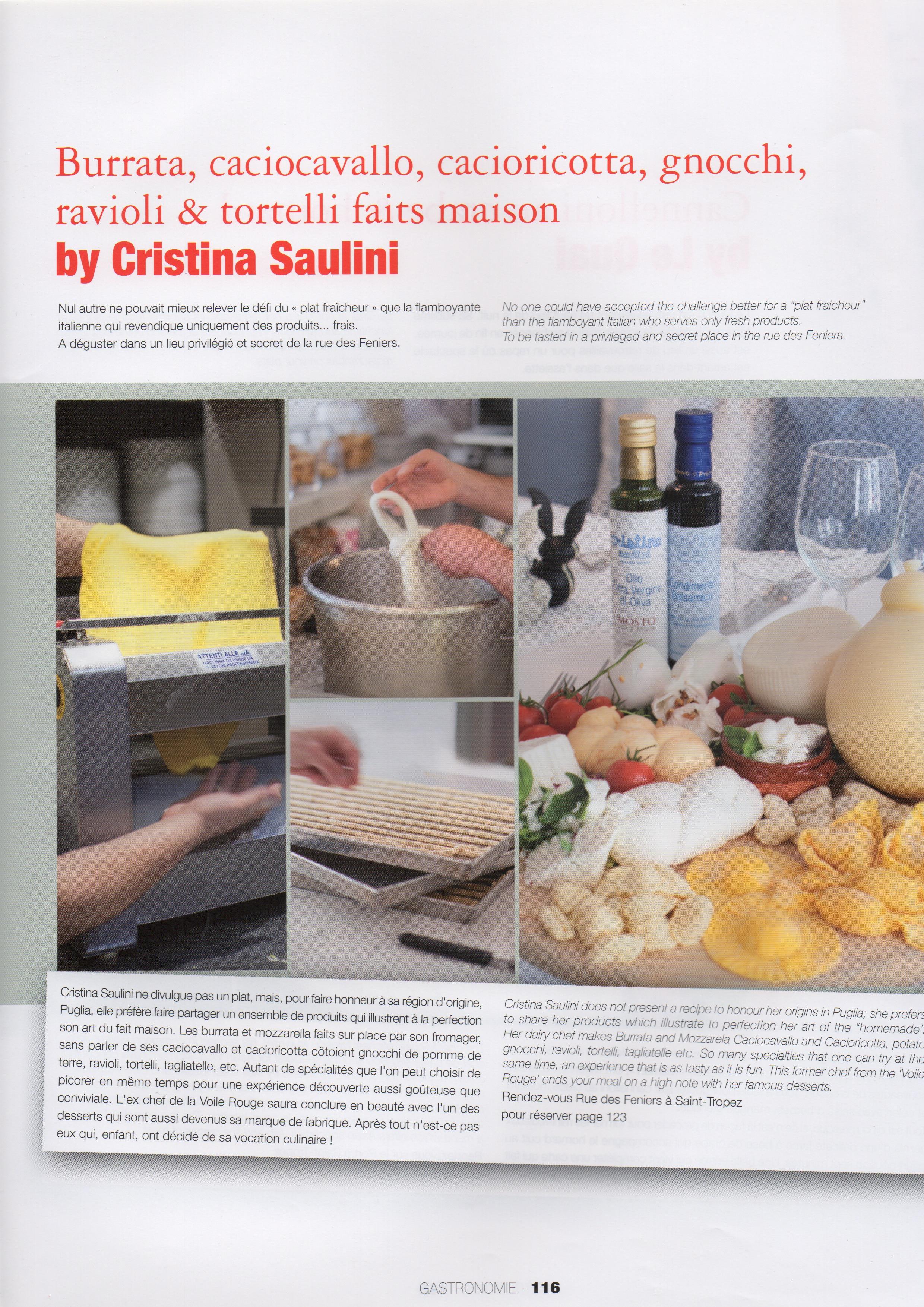 série de photos culinaires faites par Vanessa Romano chez Christina Saulini