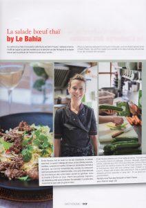 Série de photos de plats et du chef faites au Bahia par Vanessa Romano