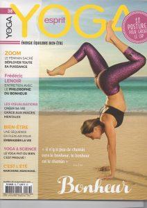 Recettes et photos culinaires pour Esprit Yoga Eté 2017