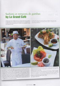 photos culinaires de Vanessa Romano sur l'hôtel de la Tartane