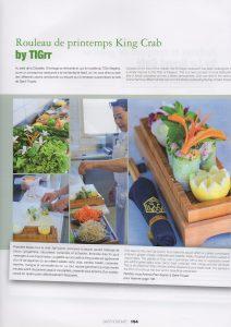 photos culinaires de Vanessa Romano sur le Tiggr