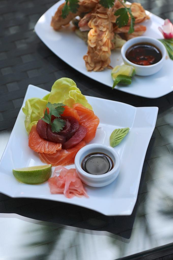 photographie culinaire de tapas au grand café