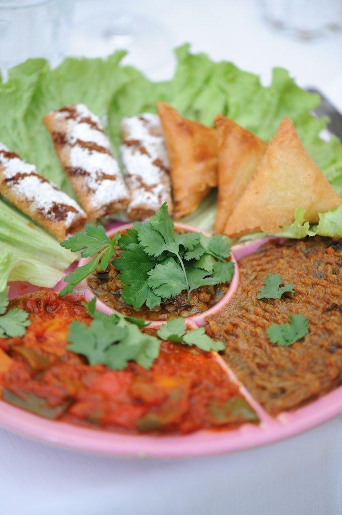 Photographie culinaire de tapas du Salama