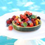 photo deTarte de pastèque aux fruits de l'été - Vanessa Romano photographe et styliste culinaire