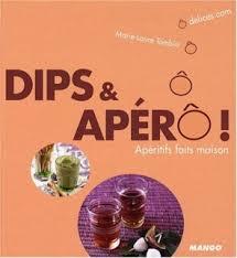 livre Dips et apéro