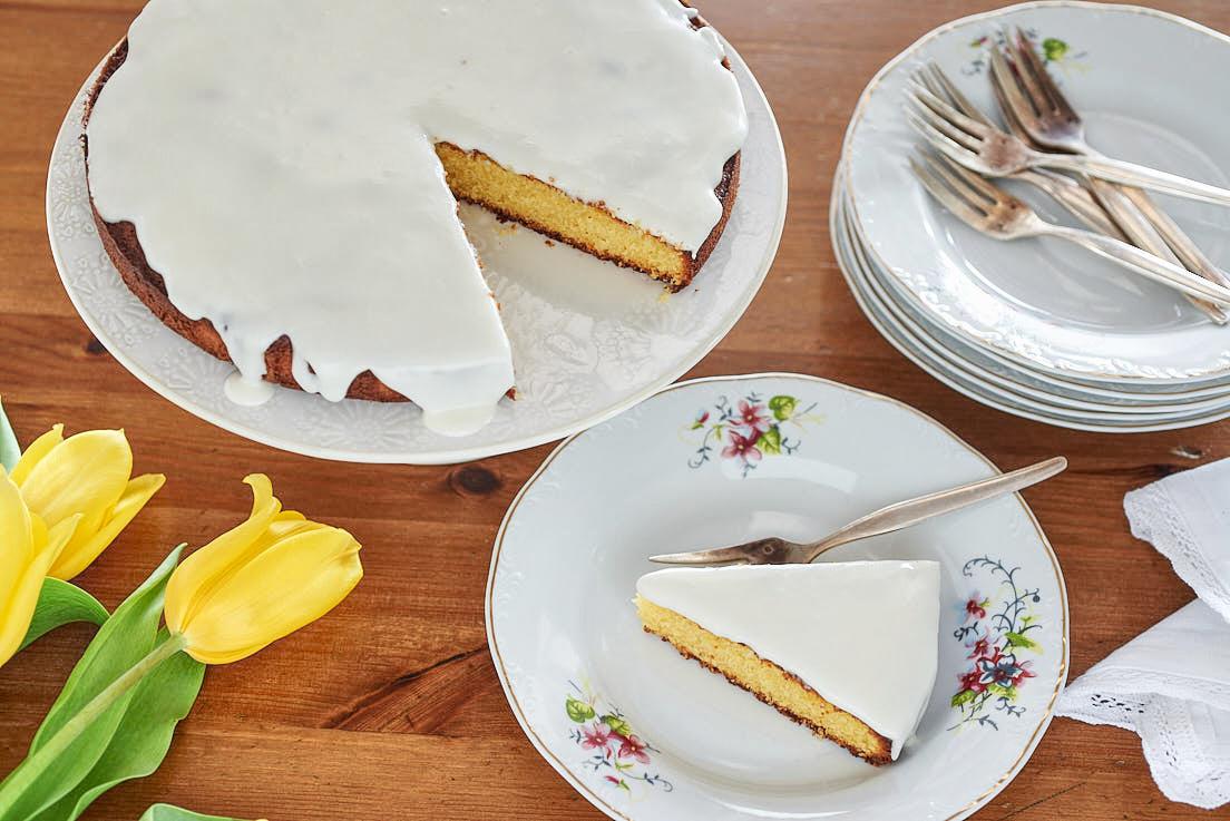 photo culinaire de gâteau nantais