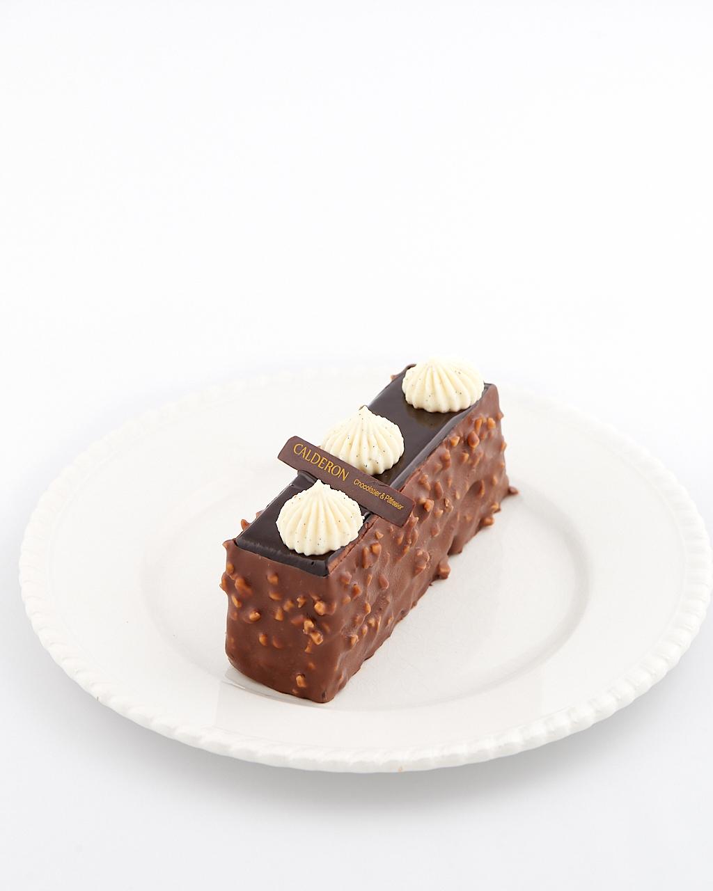 photo culinaire d'un gâteau au chocolat